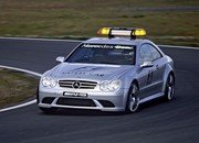 286.mercedes clk 63amg safety car