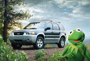 -kermit the frog ford escape hybrid team up for extreme makeover home edition