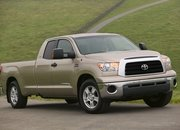 long based toyota tundra full-size pickup truck-98771
