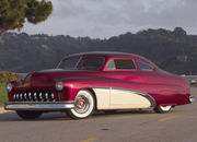 1951 mercury coupe - scarlet and cream-124986