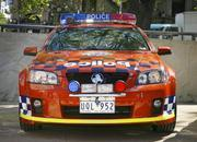 holden ss commodore police car-159485