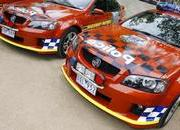 holden ss commodore police car-159476