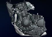 97.2008 triumph speed triple 1050 engine