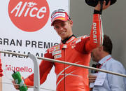 stoner storms back to the podium at mugello as melandri 8217 s luck runs out again-249369