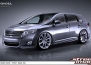 toyota venza project prepared for sema-265876