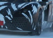 -mclaren p11 prototype testing on snow