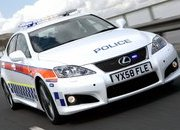 lexus is-f police car-312622