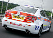 lexus is-f police car 4