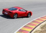 video ferrari 458 italia performance with michael schumacher-316906