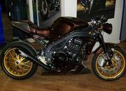 triumph speed triple brown racer se-316165