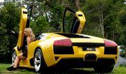 amanda ellis and lamborghini murcielago lp640-330669