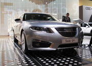video saab unveils the new 9-5 at the 2009 south florida international auto show-329620