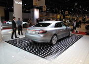 video saab unveils the new 9-5 at the 2009 south florida international auto show-329624