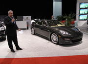 the porsche panamera makes its north american auto show debut at the 2009 south florida international auto show-329521