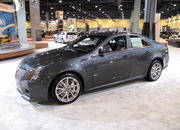 cadillac cts-v at the 2009 south florida international auto show-329538