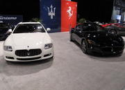 maserati at the 2009 south florida international auto show-329581