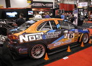 ams time attack evo x at the 2009 sema show-332899