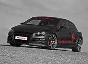 volkswagen scirocco black rocco by mr car design-331310