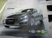 2010 honda cr-z hybrid coupe - official brochure leaked-337933