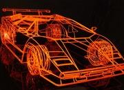 wireframe lamborghini countach being sold for 65 000-340490