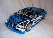 bugatti veyron built from lego blocks-345062