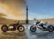 2012 izh hybrid motorcycle concept by igor chak w video-359006