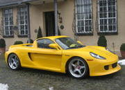 carrera gt bodykit-wearing porsche boxster gt for sale to anyone willing to buy it-360581