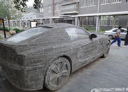 found in china bmw z4 made from block of stone-364891