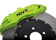 the ford focus rs gets new colorful brakes by mov 8217 it-374717