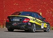 mercedes c63 amg dunlop-performance by wimmer rs-374007