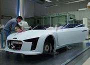 the process of building the audi e-tron spyder-379162