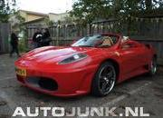 toyota mr2 turned ferrari f430 spider goes side by side with the real deal-378438