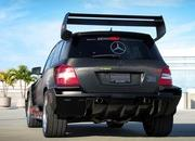 mercedes glk350 hybrid pikes peak rally car by renntech-393793