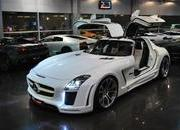 mercedes sls amg gullstream by fab design-393718