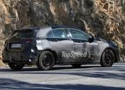 spy shots next generation mercedes a-class reveals its brand new shape-409352