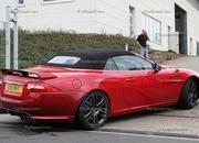 spy shots 2013 jaguar xkr-s convertible-412643