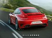 -2013 porsche 911 turbo rendered