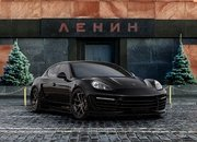 porsche panamera stingray gtr with crocodile and gold interior-419590