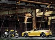 mercedes slk 55 amg streetfighter yellow-428527