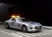 mercedes sls amg safety car-443600