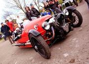 enjoy the sights and sounds of the morgan 3 wheeler-451309
