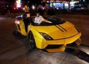 stunning lamborghini gallardo lp570-4 spyder performante destroyed in crash-457929