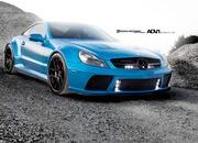 mercedes-benz sl65 amg black series by adv.1 wheels-466325