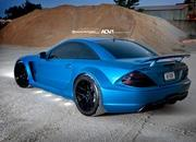 mercedes-benz sl65 amg black series by adv.1 wheels-466331