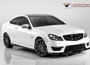 mercedes c63 amg coupe by vorsteiner-465540