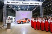 porsche rolls its 500 000th vehicle from its leipzig plant in generous fashion-463298