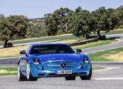 mercedes sls amg coupe electric drive-475372