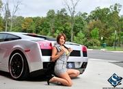 ashley models with a lamborghini gallardo and bmw m3 sport pack-474628