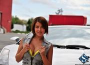 ashley models with a lamborghini gallardo and bmw m3 sport pack-474641