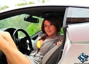 ashley models with a lamborghini gallardo and bmw m3 sport pack-474660